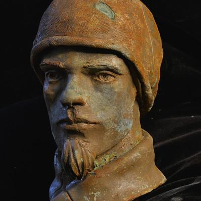 Oberon obe bradford oberon bradford portrait sculpt b
