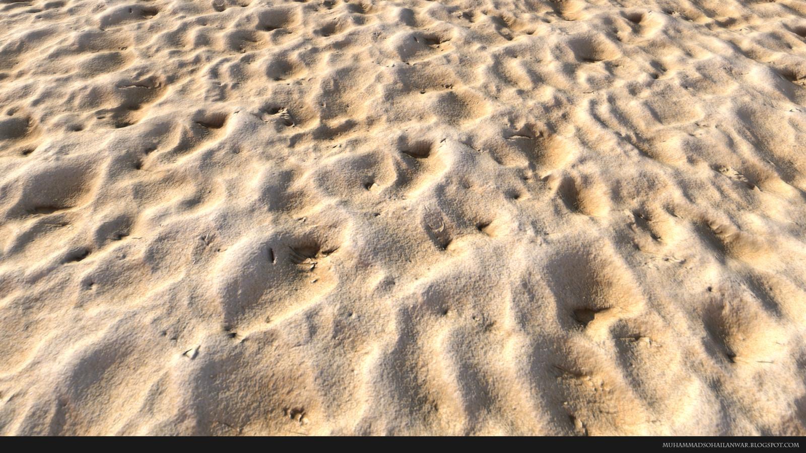 Beach Sand - Close Up