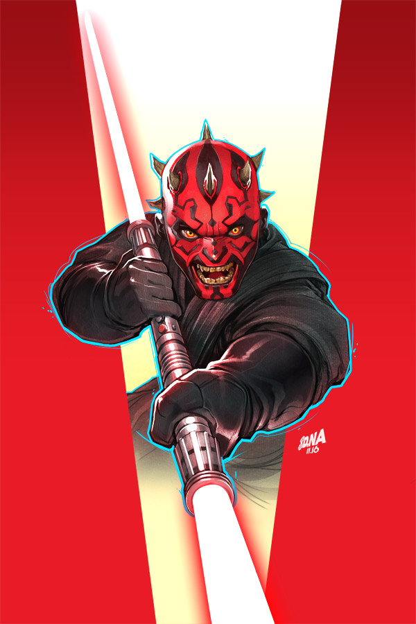 Darth Maul No.4 Cover