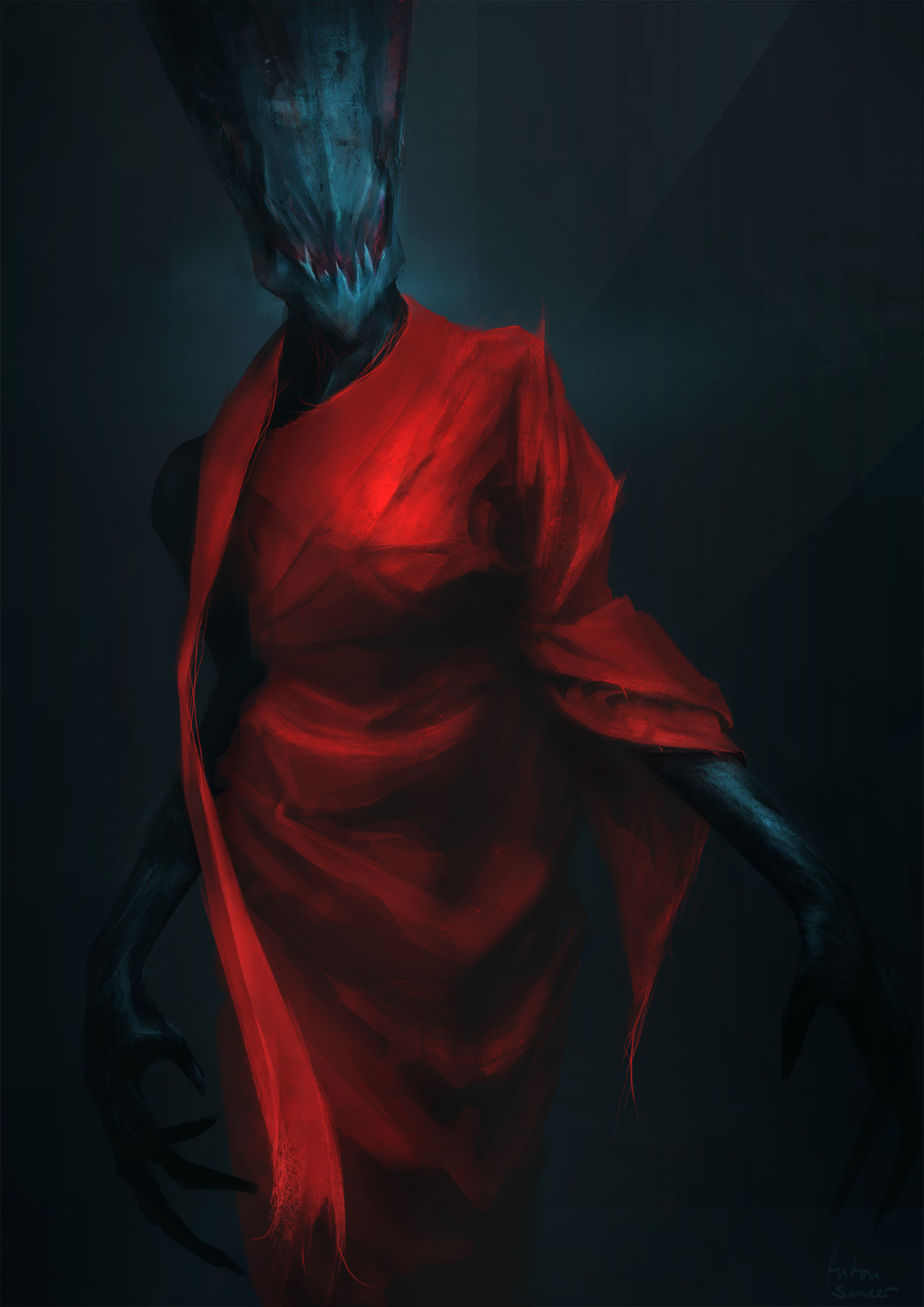 Red Dress (+alien)