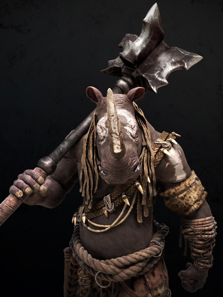 Omar chaouch rhino closeup02