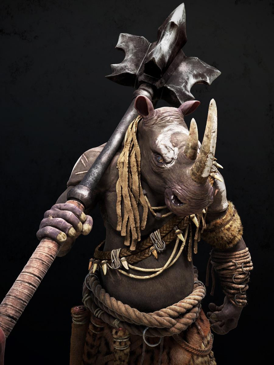 Omar chaouch rhino closeup03