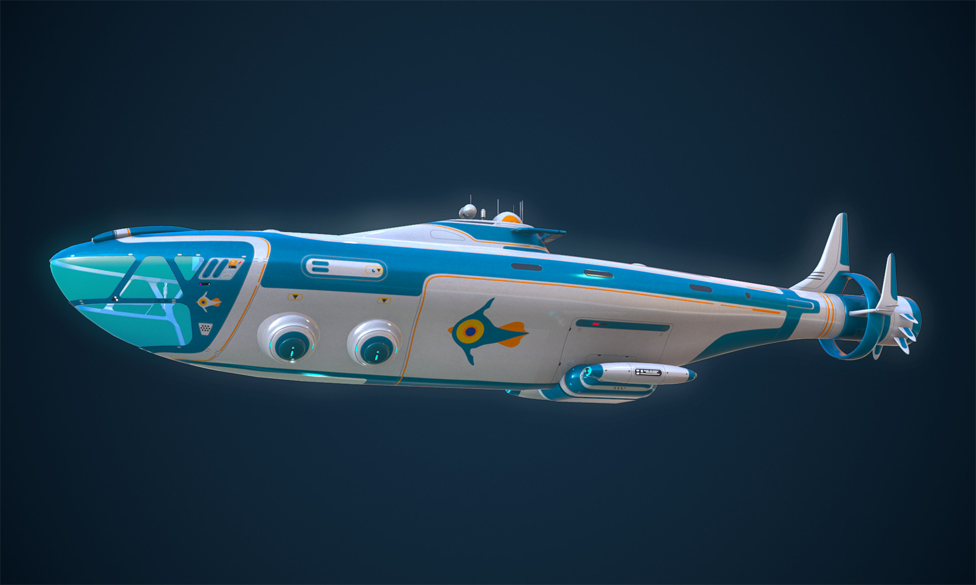 Tanguy Oliveras The Atlas Subnautica Fanmade Model Wip
