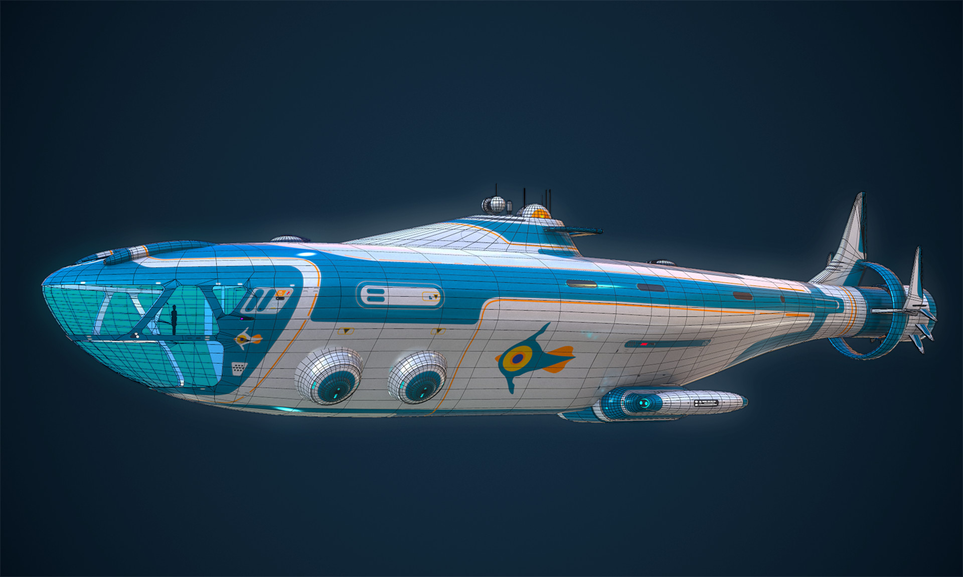 tanguy oliveras - the atlas - subnautica fanmade model