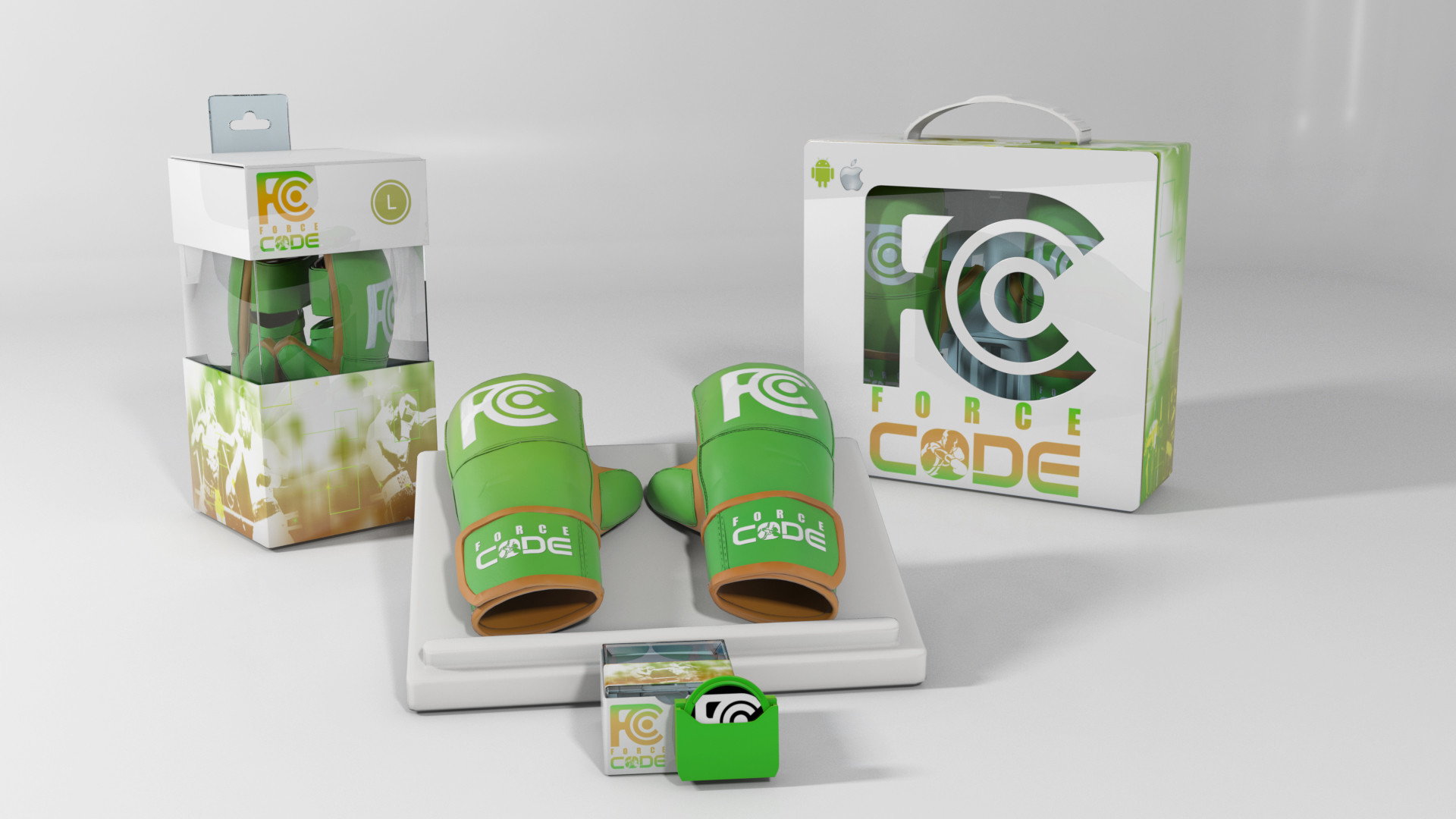 Packaging and Product Option 2