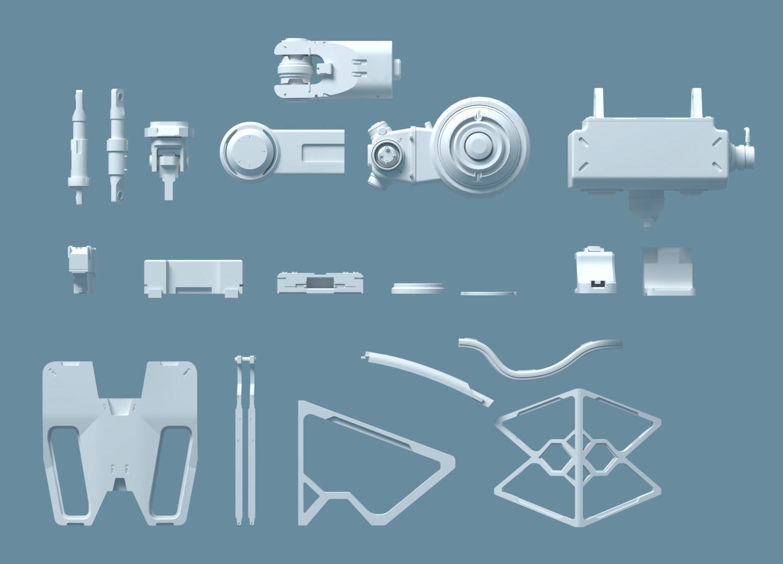 Tam Nguyen Random Kit - free kitbash set - 3DCoat Exchange