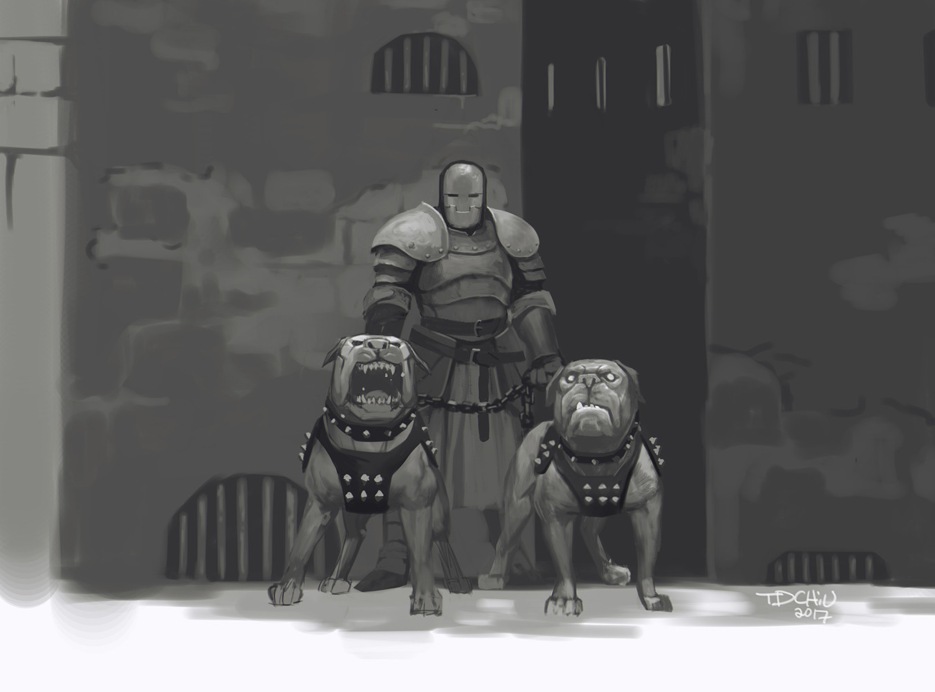 T d chiu bwsketch guarddogs