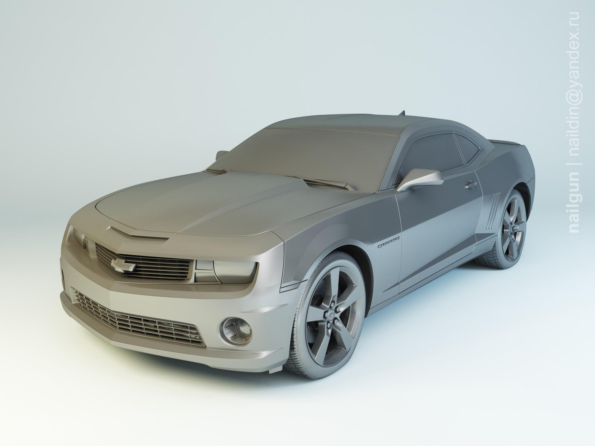 Nail khusnutdinov pwc 030 000 chevrolet camaro ss modelling 0