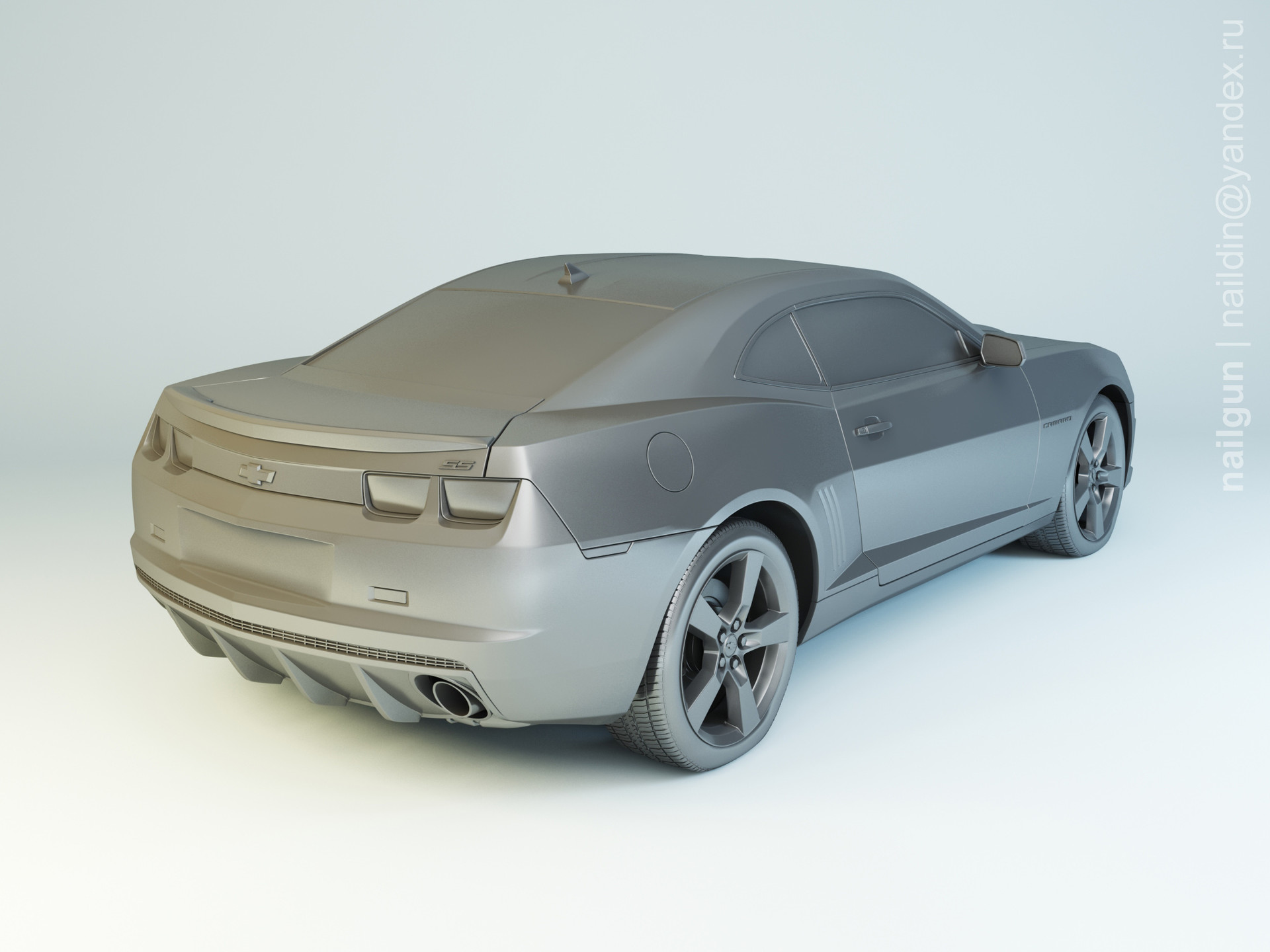 Nail khusnutdinov pwc 030 000 chevrolet camaro ss modelling 1