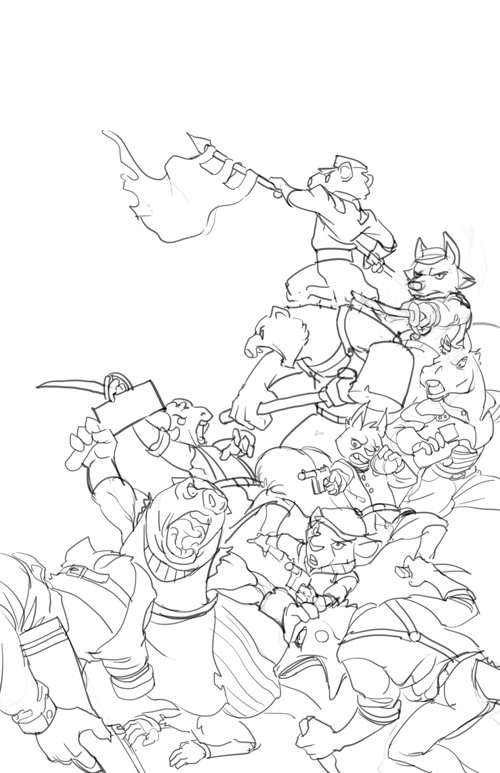 Lineart stage