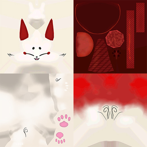 ArtStation - Inari Fox Mimi, Marco Angelo Valiao