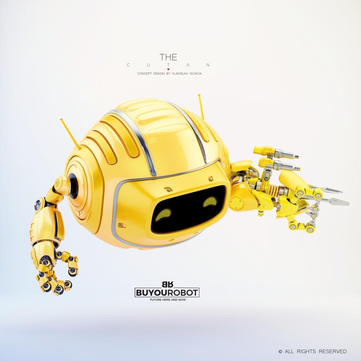 Vladislav ociacia combat cutan robot 11