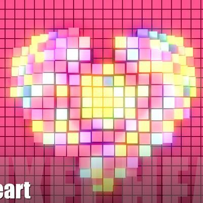 Tzu yu kao at vh vj pixel heart
