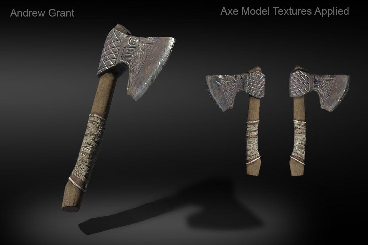 Viking Dragon Axe