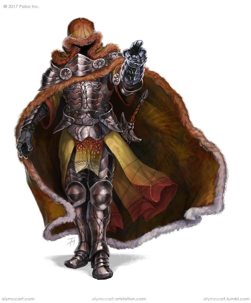 Alyssa mccarthy pzo9480 hooded knightweb