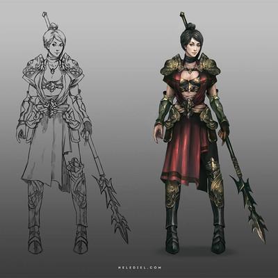Nele diel warrior princess