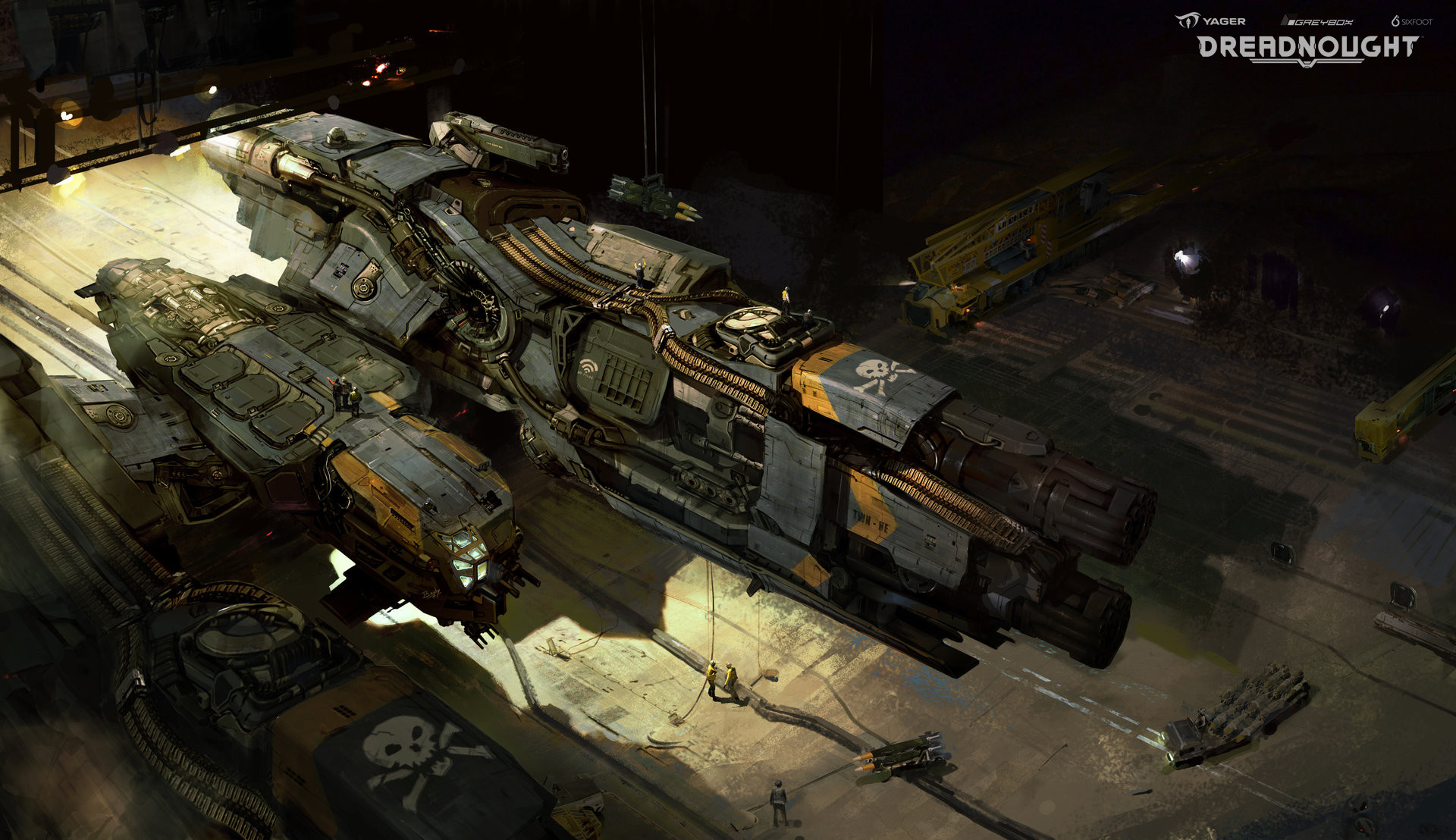 Yuriy mazurkin corvette dreadnought yager