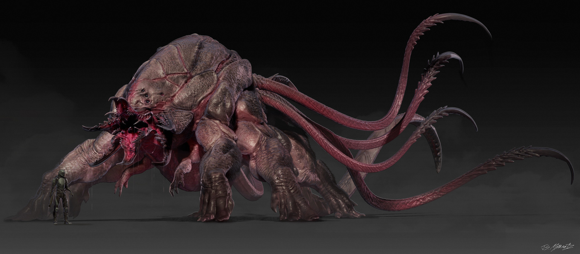 Jerx marantz monster qaurter