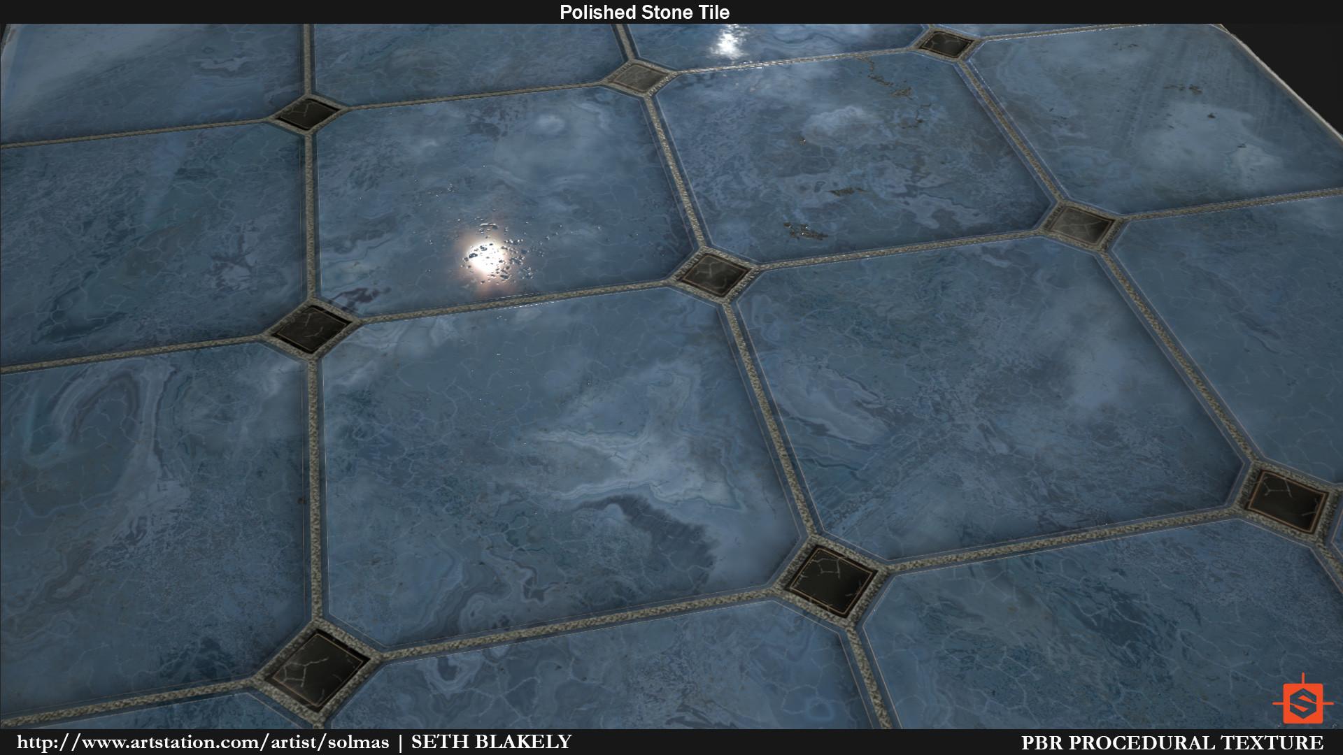 ArtStation - Polished Stone, Seth Blakely