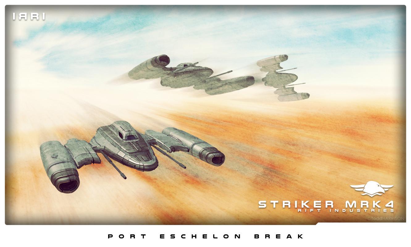 Todd harrison ri striker mrk4 trio port eschelon break low