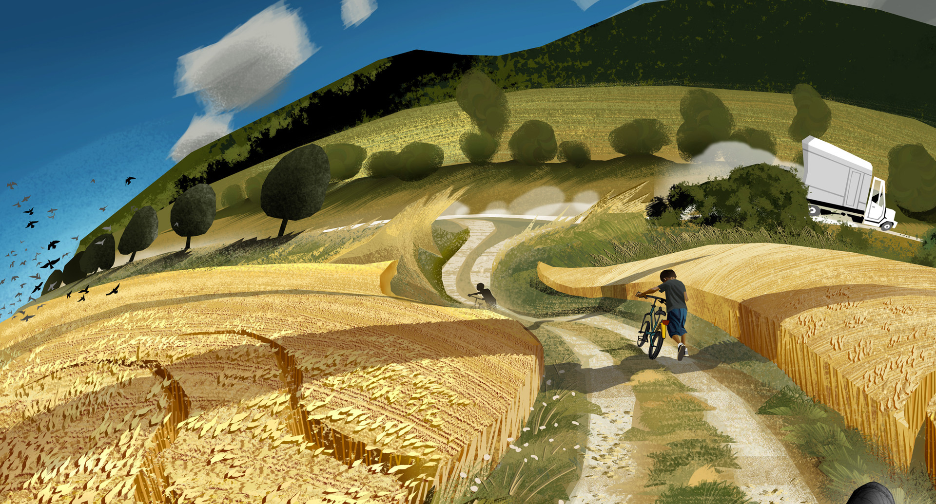 Harald ardeias summer fields detail 2