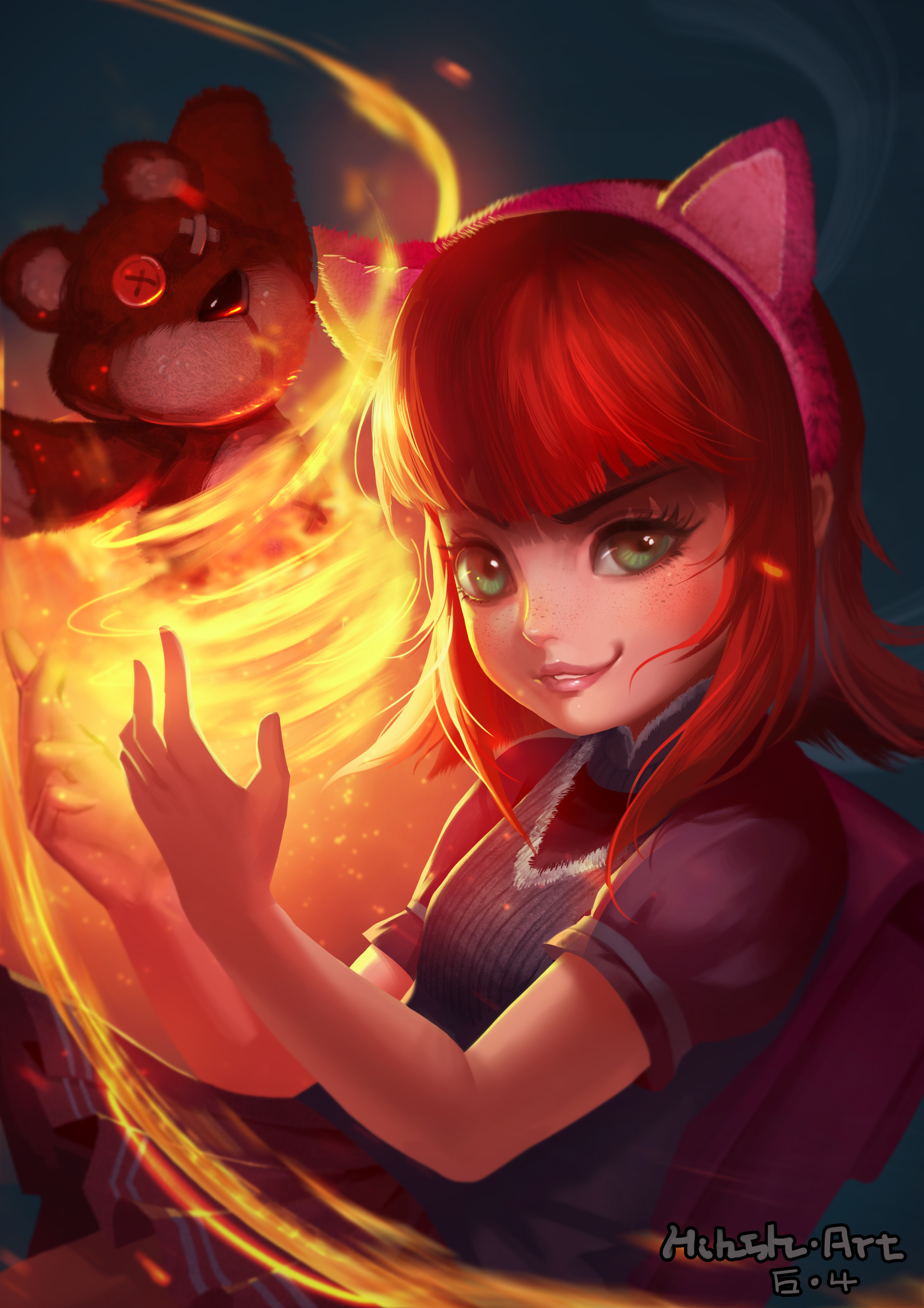 Artstation League Of Legends Annie Ye A