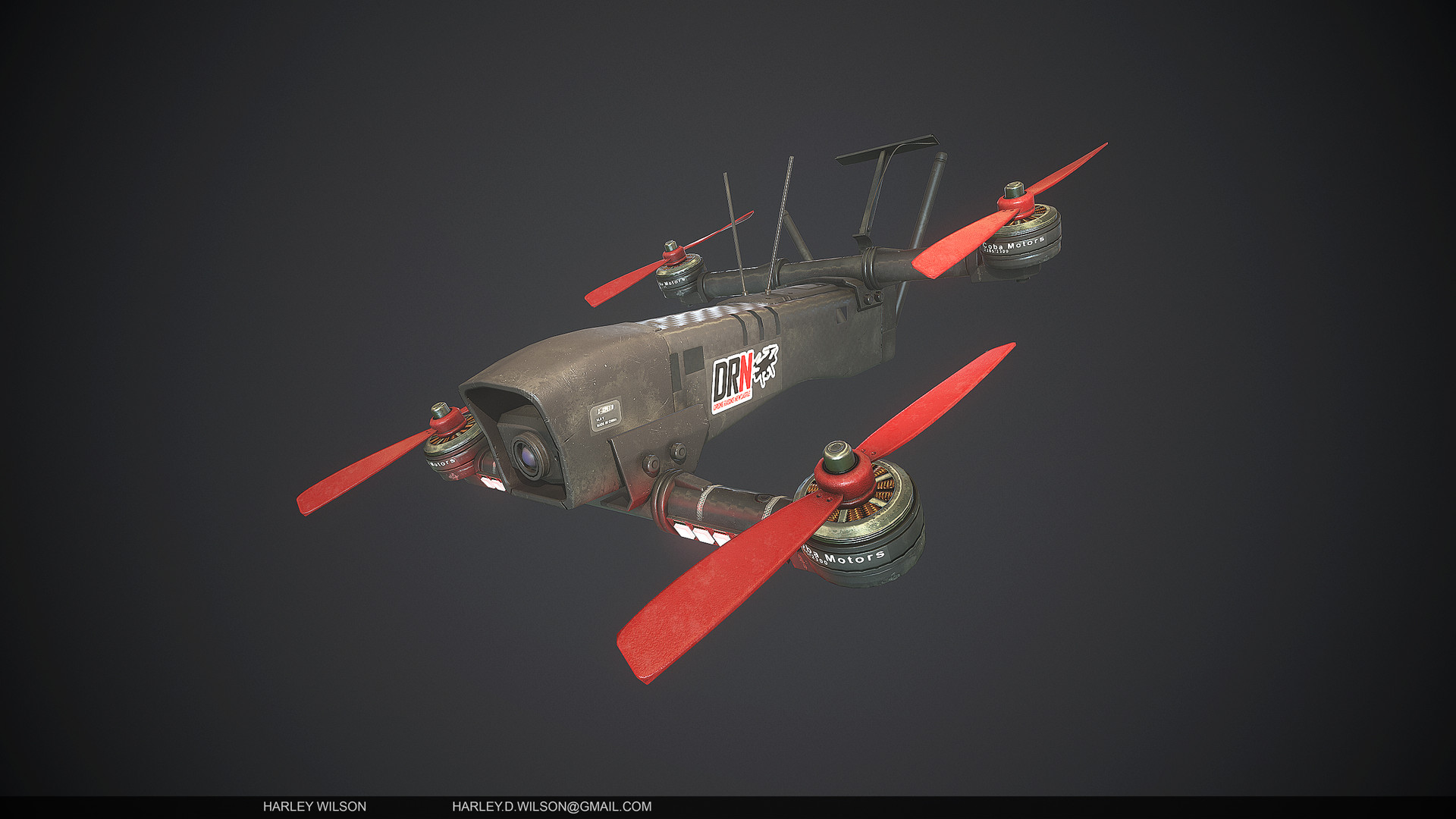 Harley wilson as drone b
