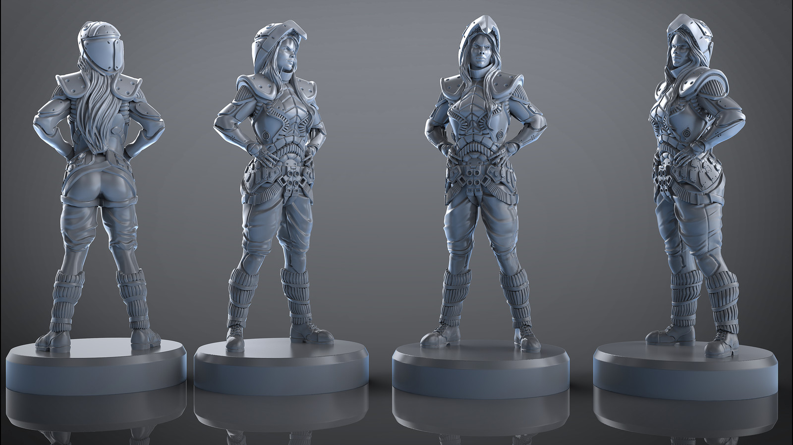 Jane Roberts upcoming wargame miniature