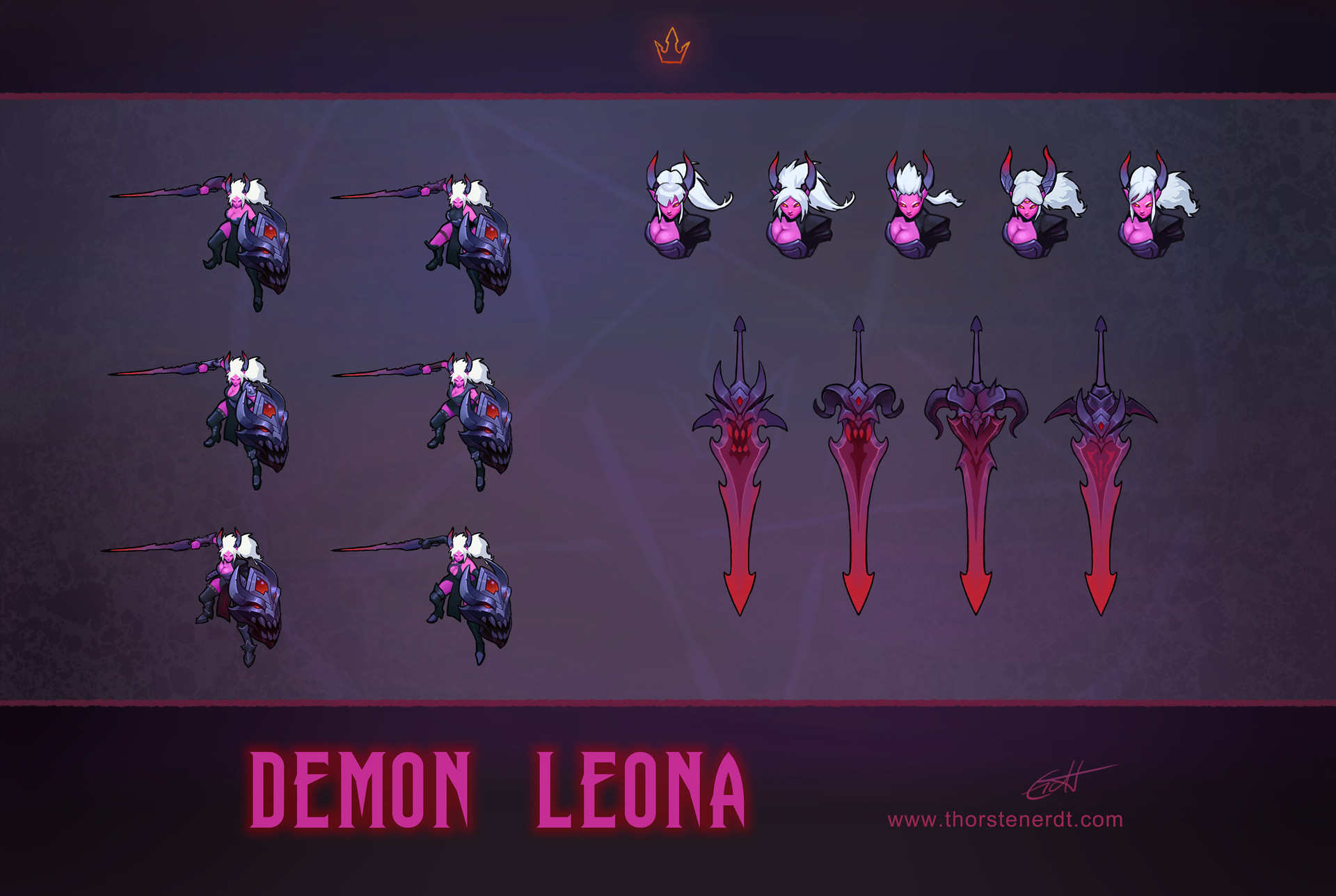 Thorsten erdt demon leona concepts