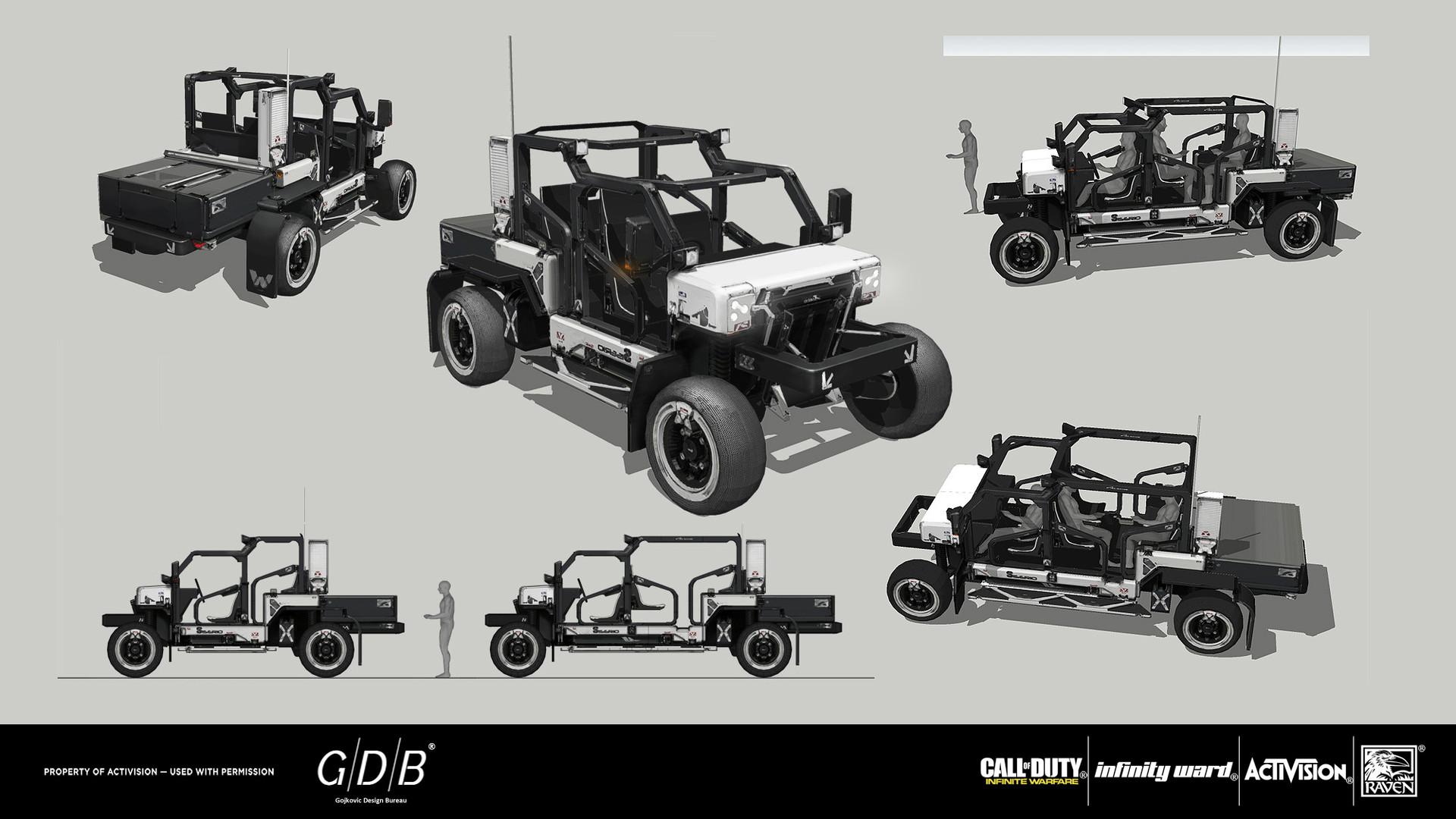 ArtStation GDB CODInfinite Warfare 24 Gojkovic Design