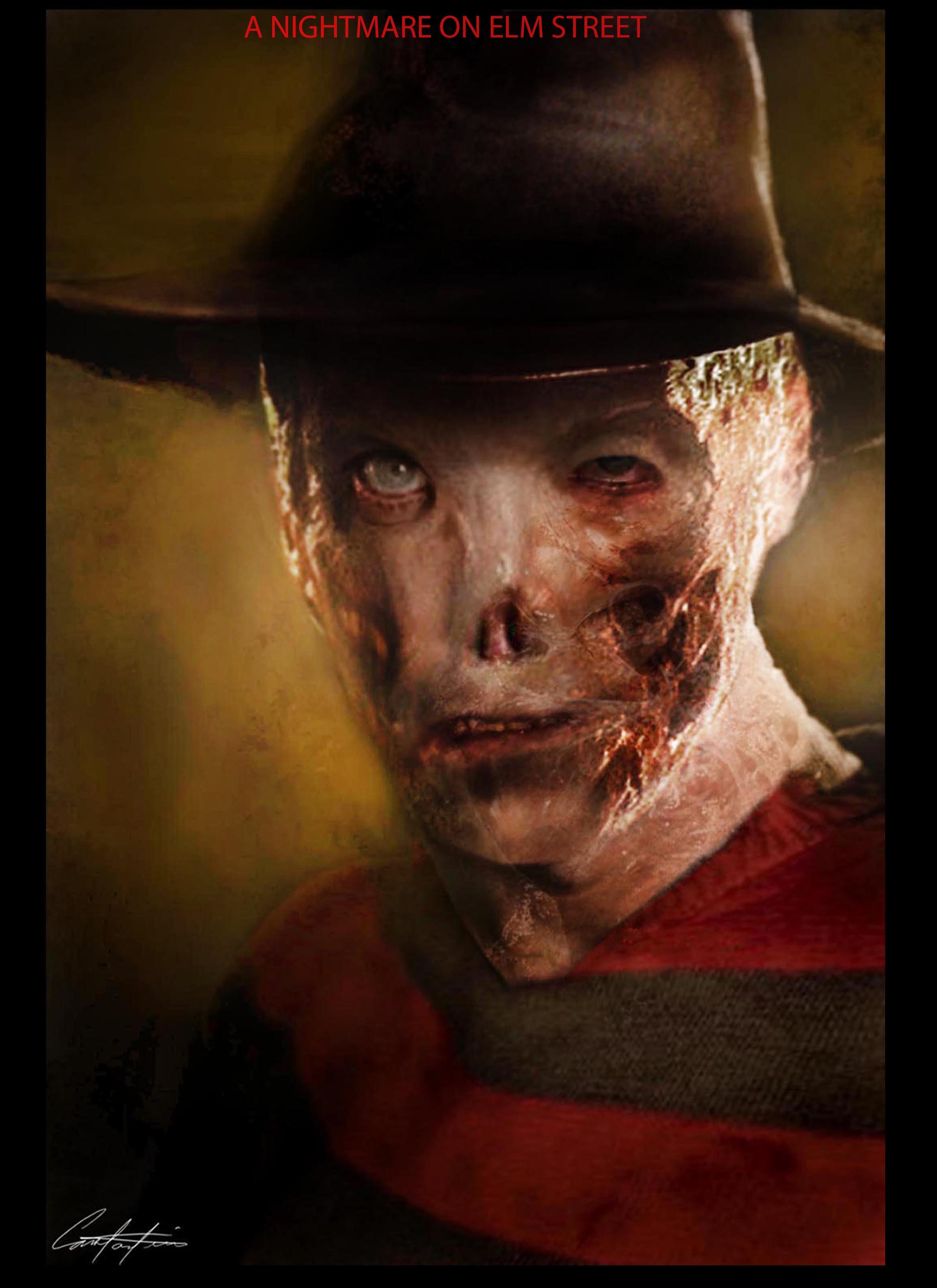Freddy make-up design