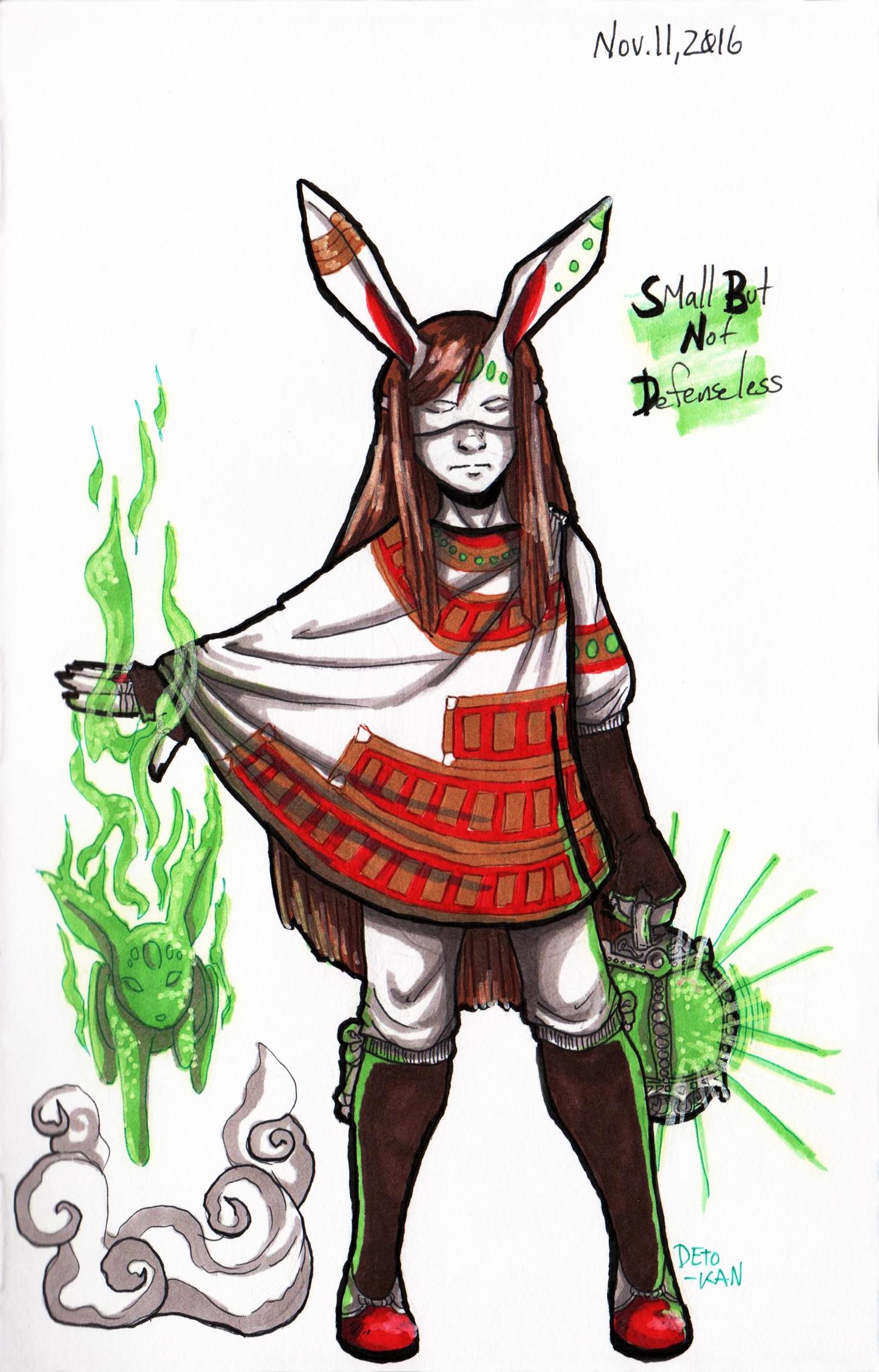 Detonya kan rabbitmagicgirl