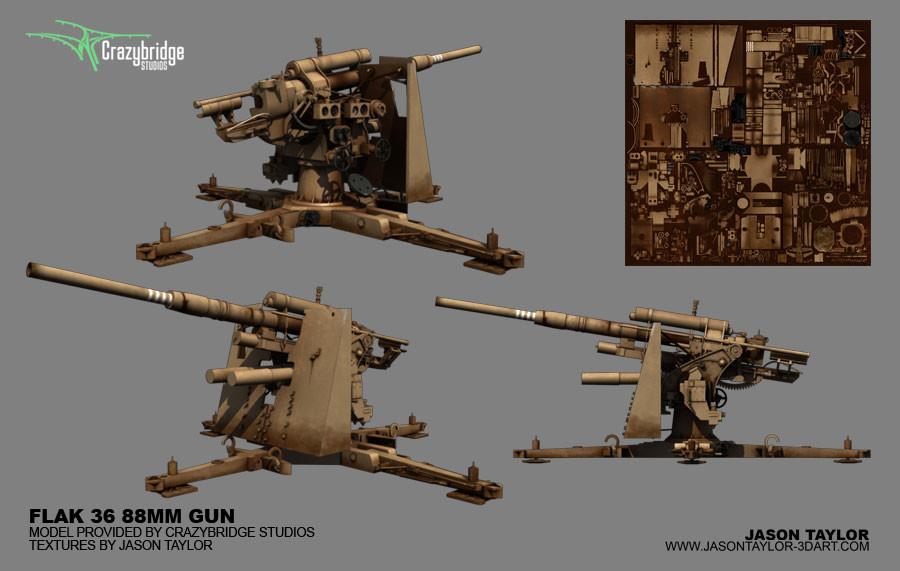 Jason taylor flak 36 88mm gun