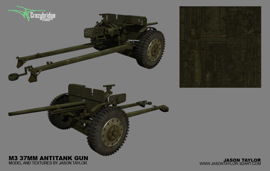 Jason taylor m3 37mm antitank