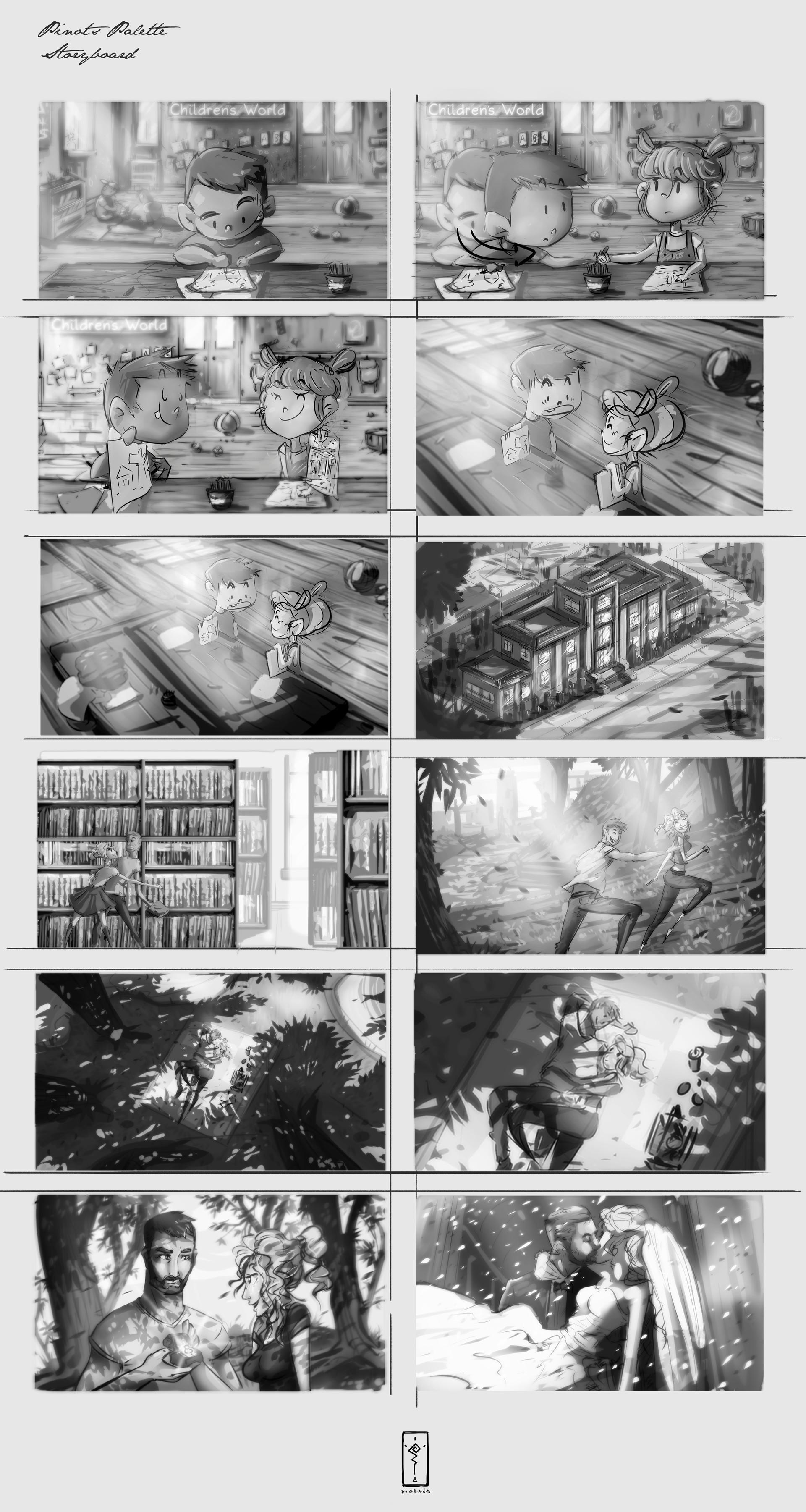 Christian benavides storyboard frames 1 10