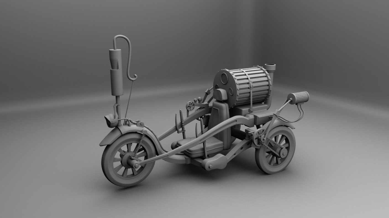 Artstation Steampunk Vehicles Mithun Behera