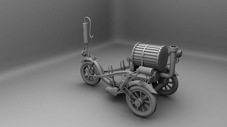 Mithun Behera Steampunk Vehicles