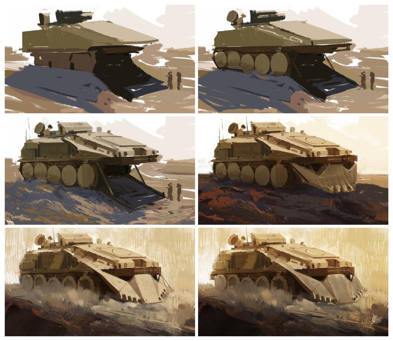 Sina pakzx kasra armoured personnel carrier steps
