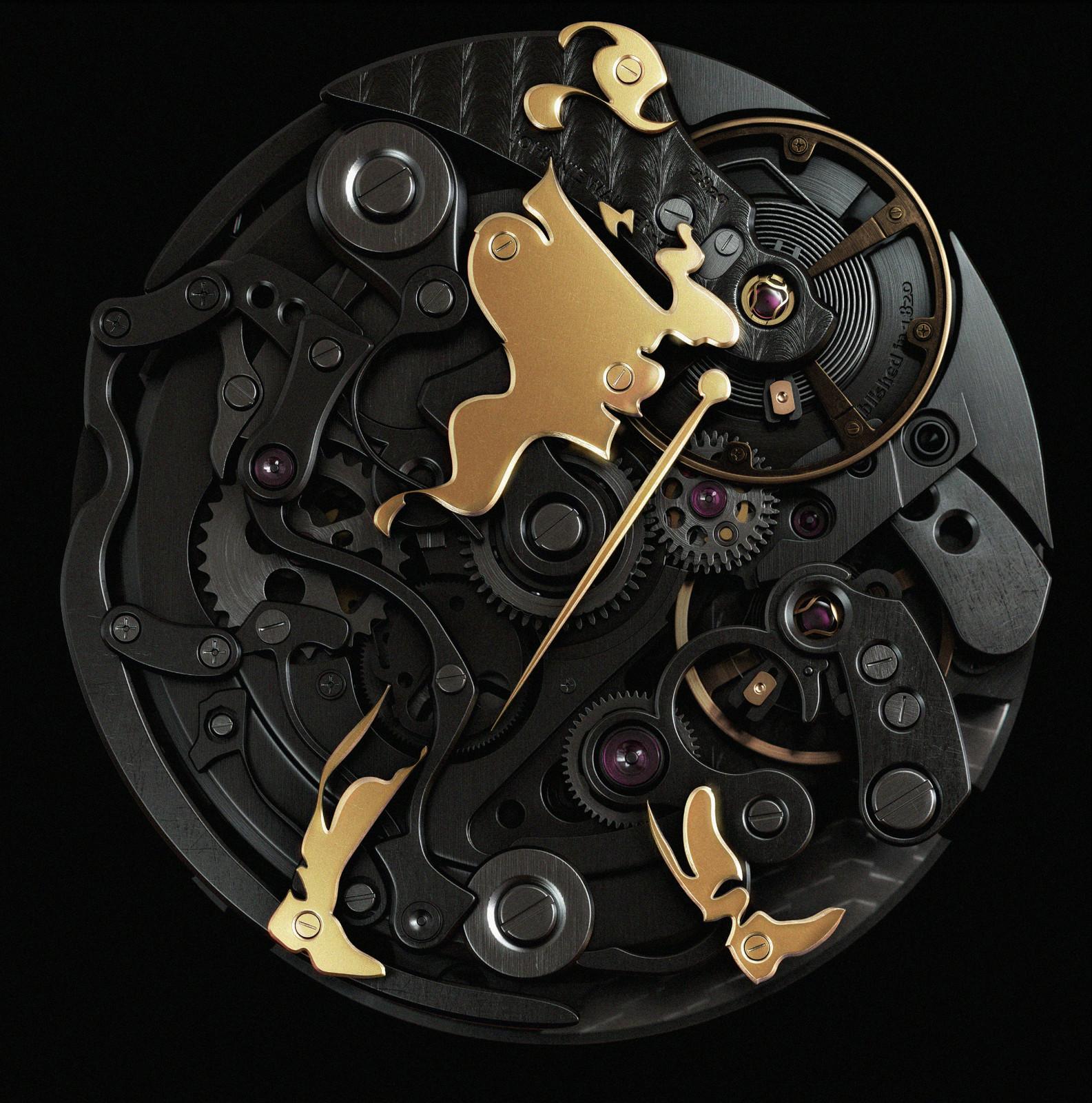 Johnny Walker Clock