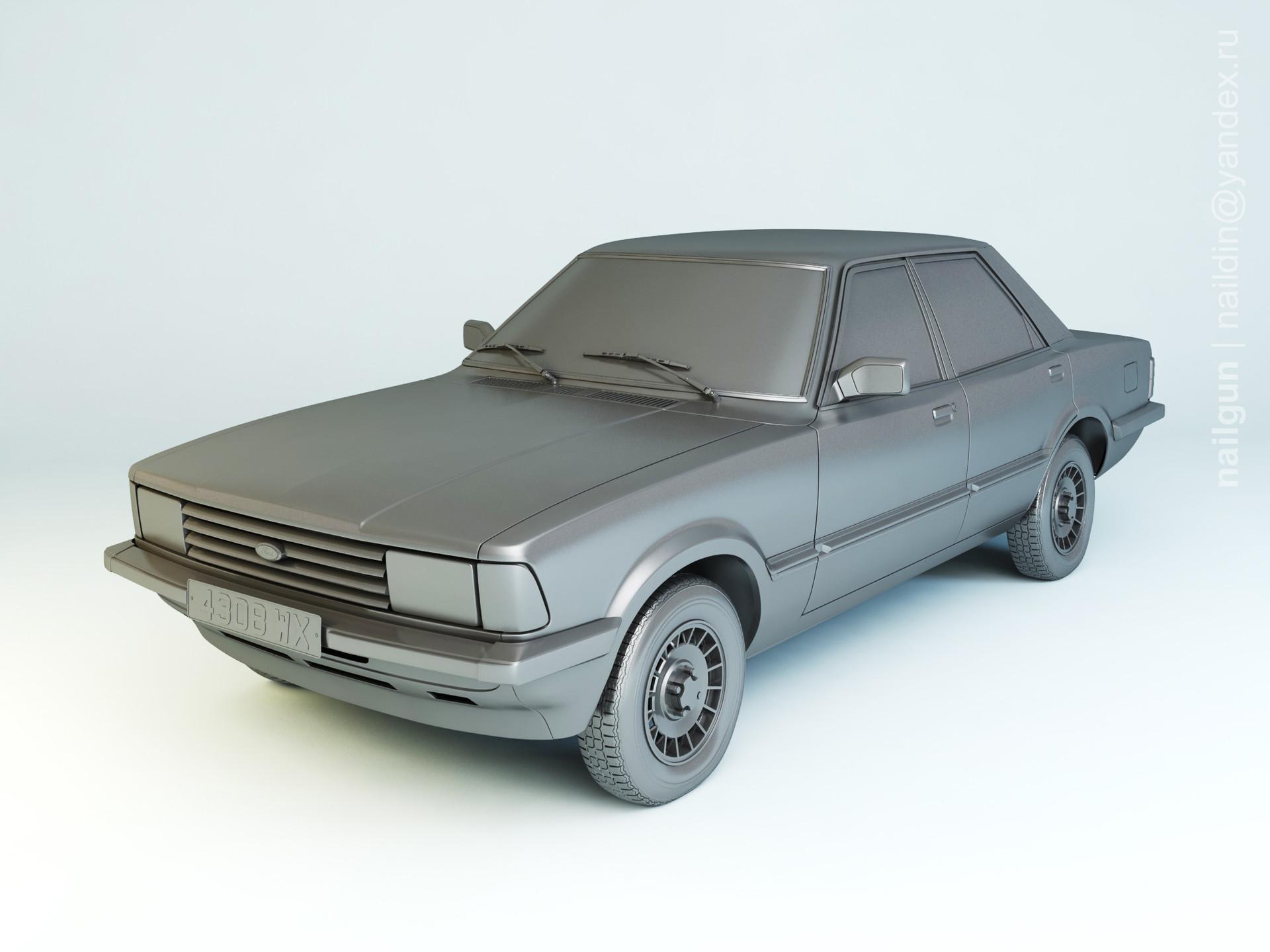 Nail khusnutdinov pwc 031 005 ford taunus tc3 modelling 0