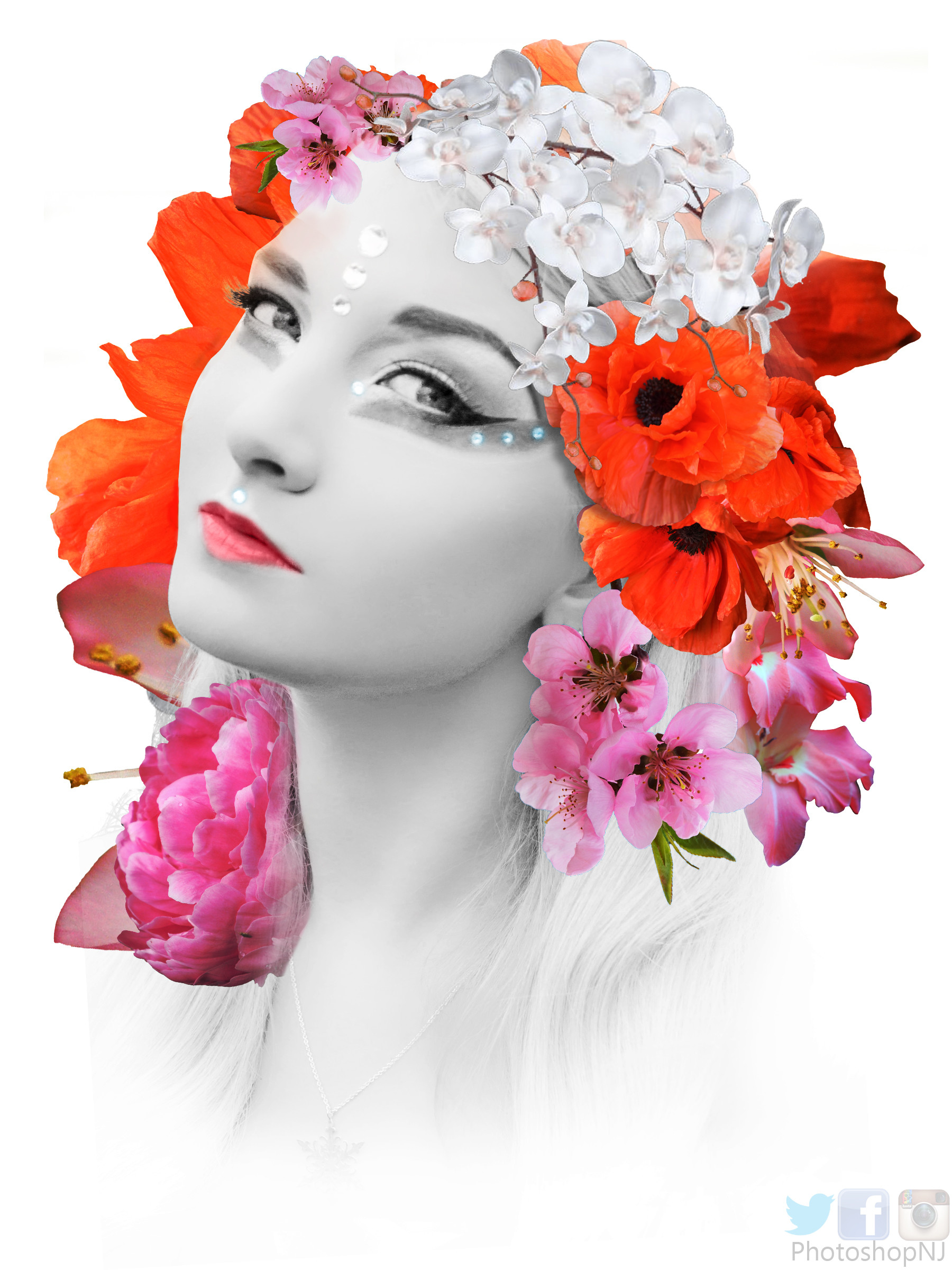 Niranjan Mondal - FLORAL DESIGN ART | PHOTO MANIPULATION PHOTOSHOP