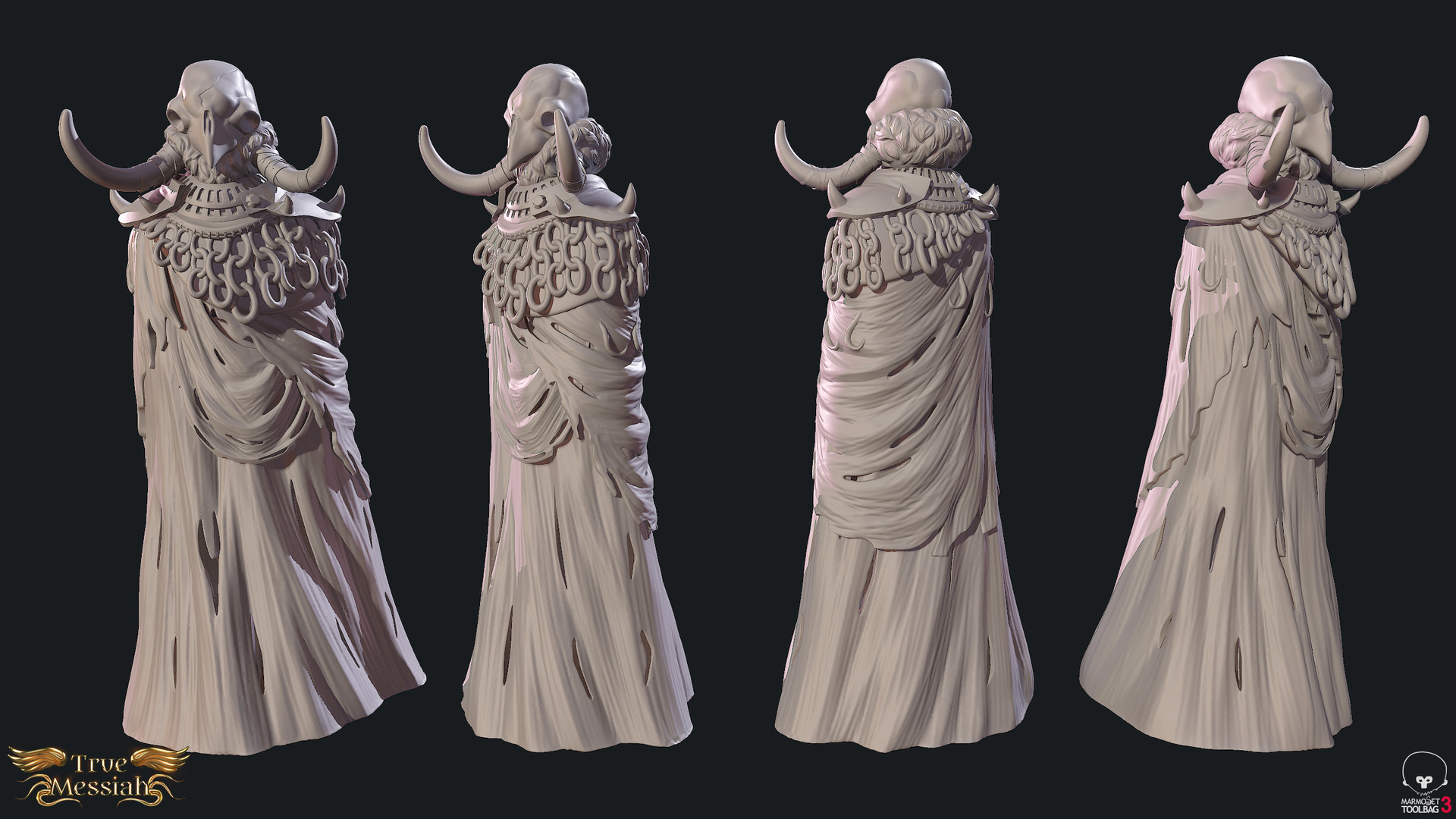 White Messiah Sculpt