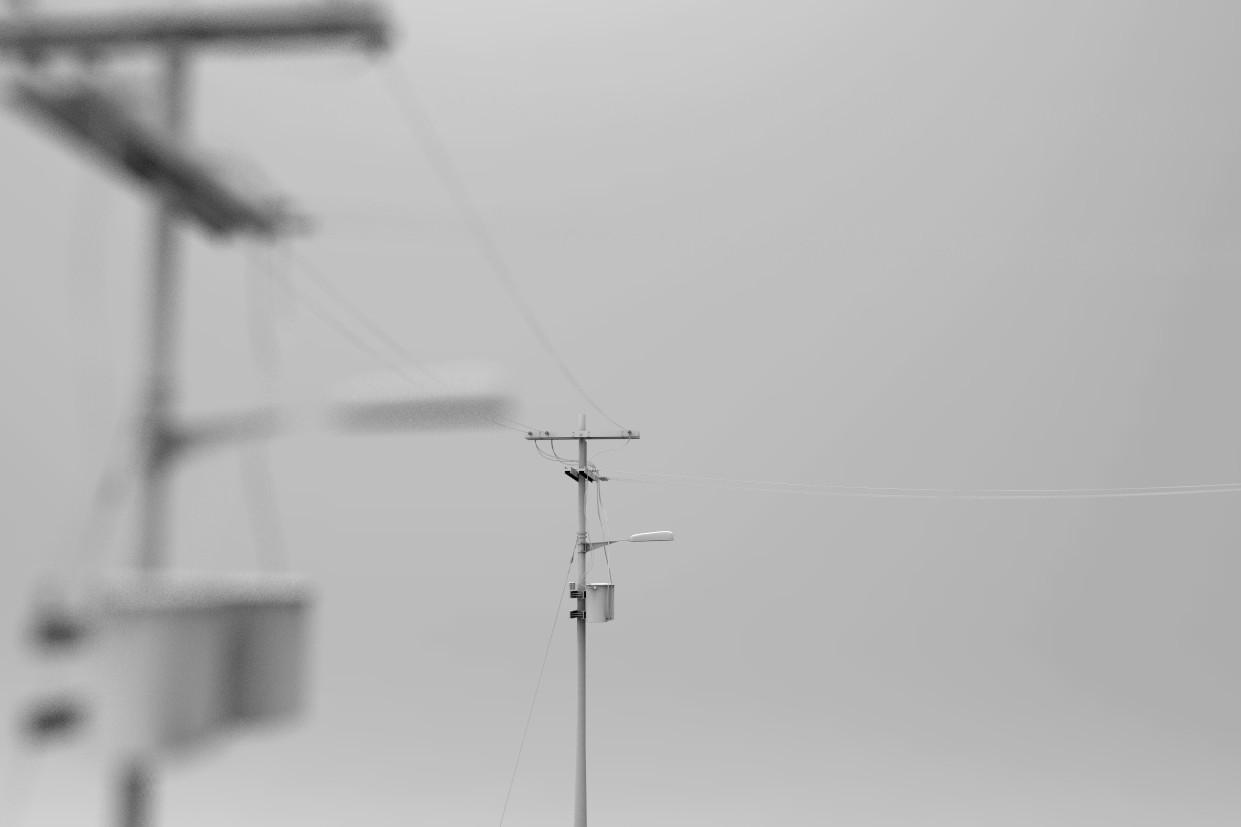 ArtStation - Electric pole prop, Victor Armasdsign