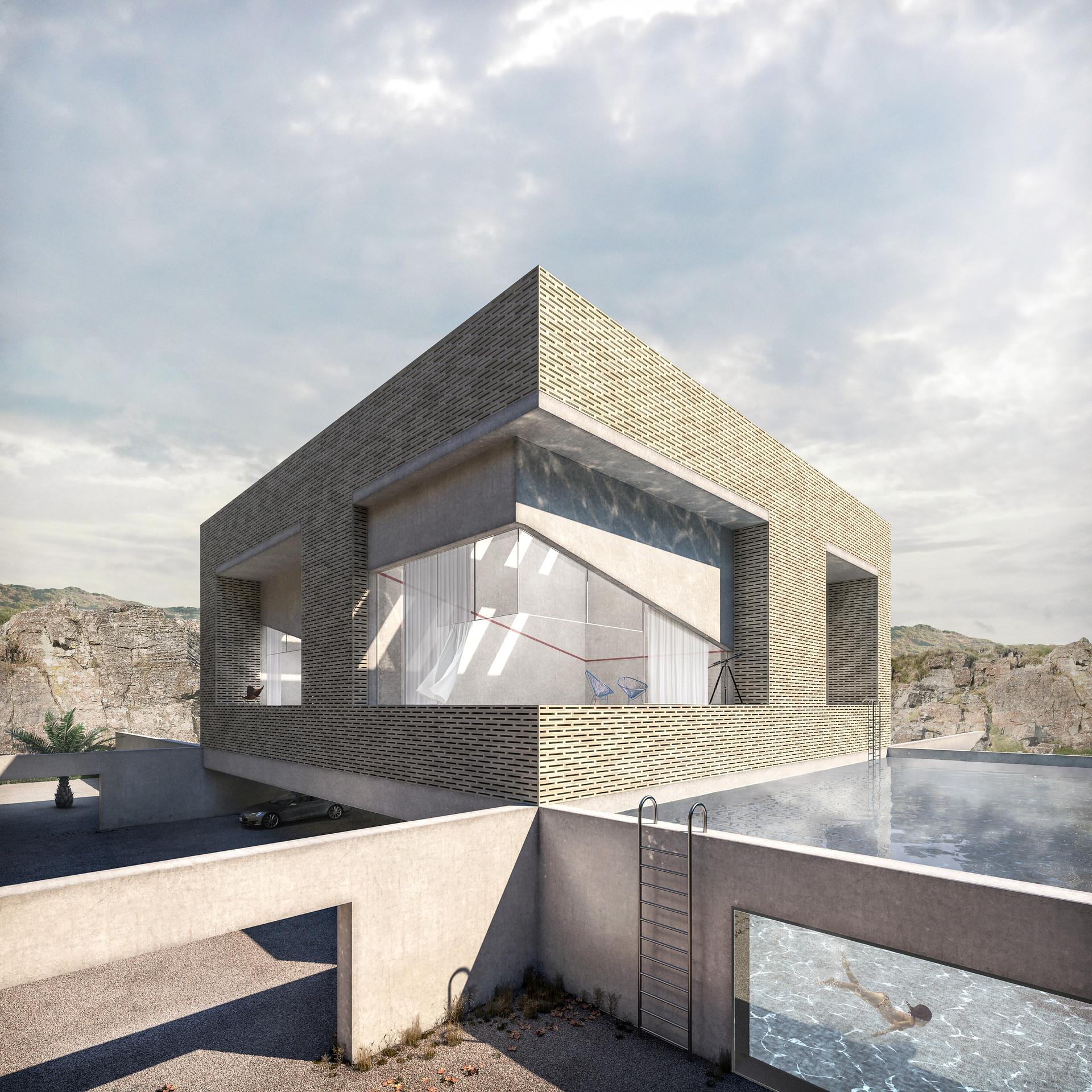 Play time architectonic image toi t squash house 01