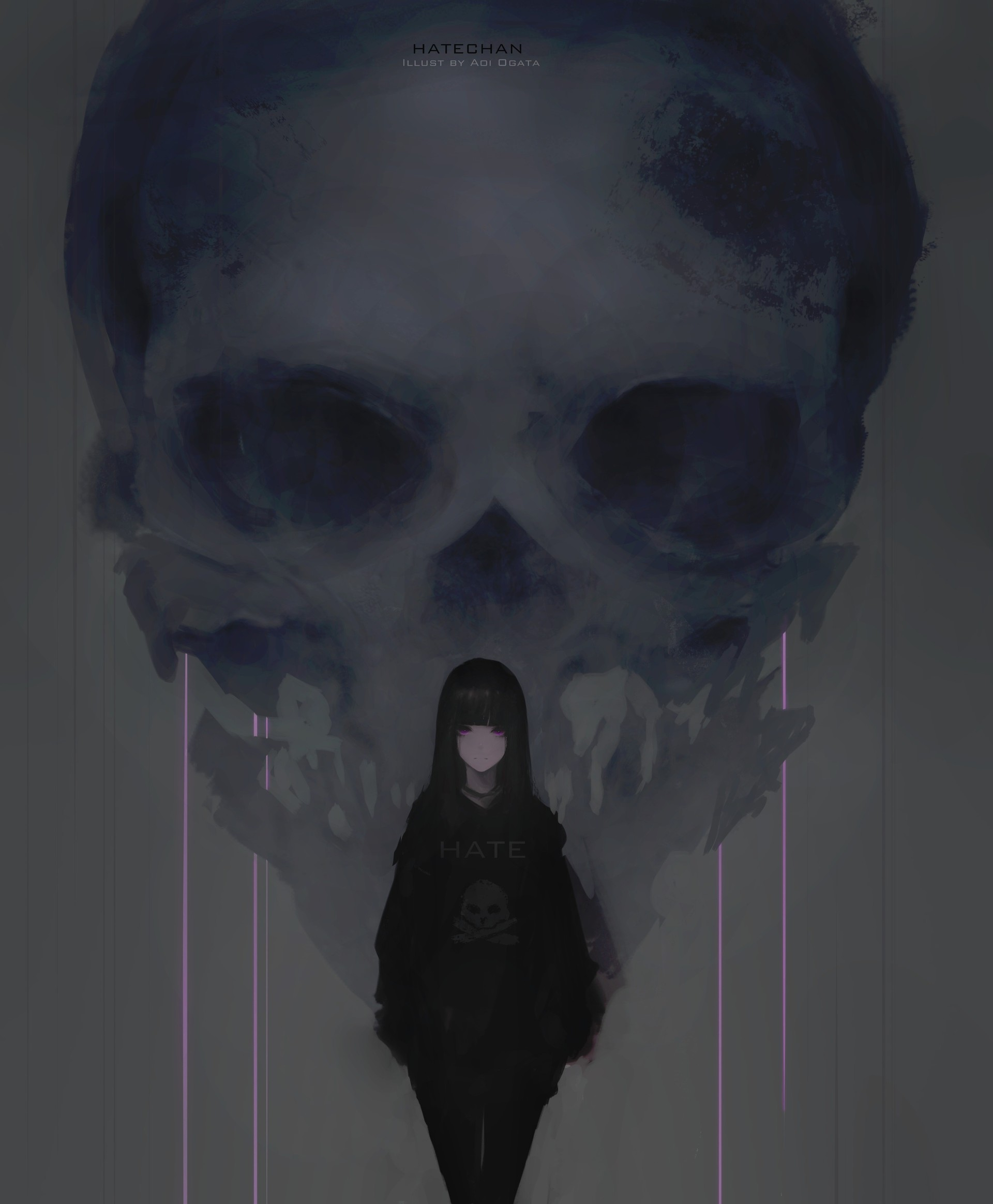 Aoi ogata hate skull2