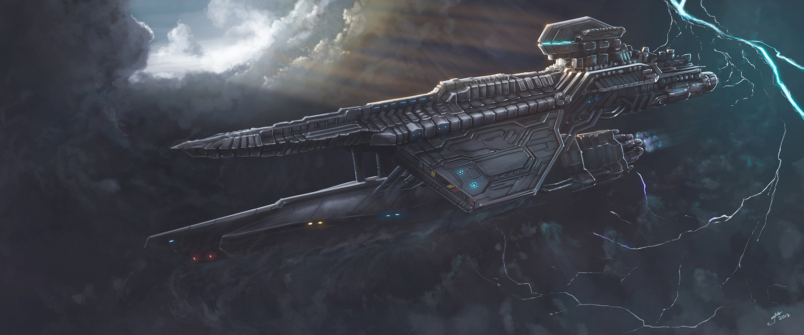 Space Missile Cruiser