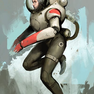 Guillaume menuel spacesuit