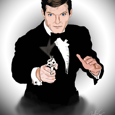 Andre smith sir roger moore 007