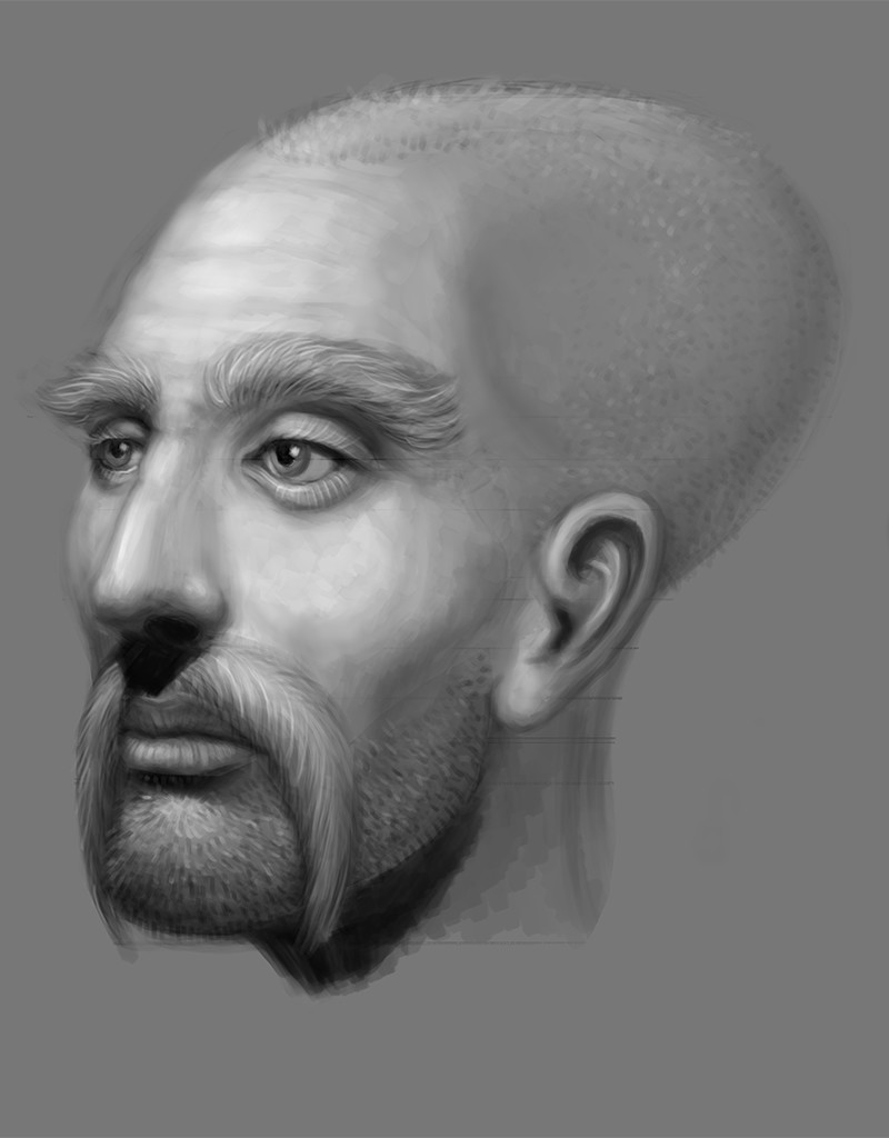 Luka trkanjec face study6