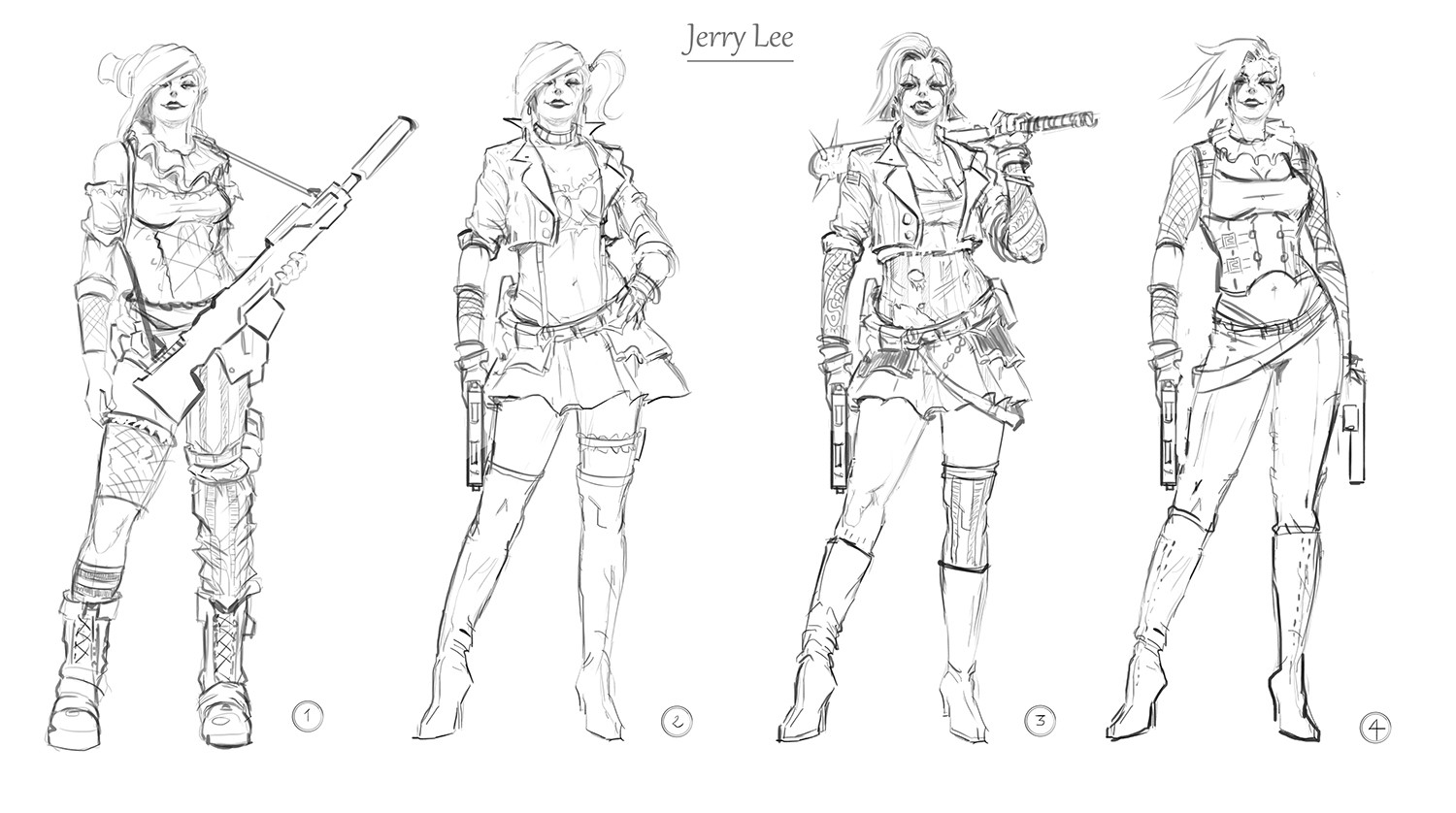 Jerry lee Concepting for Joyland!!